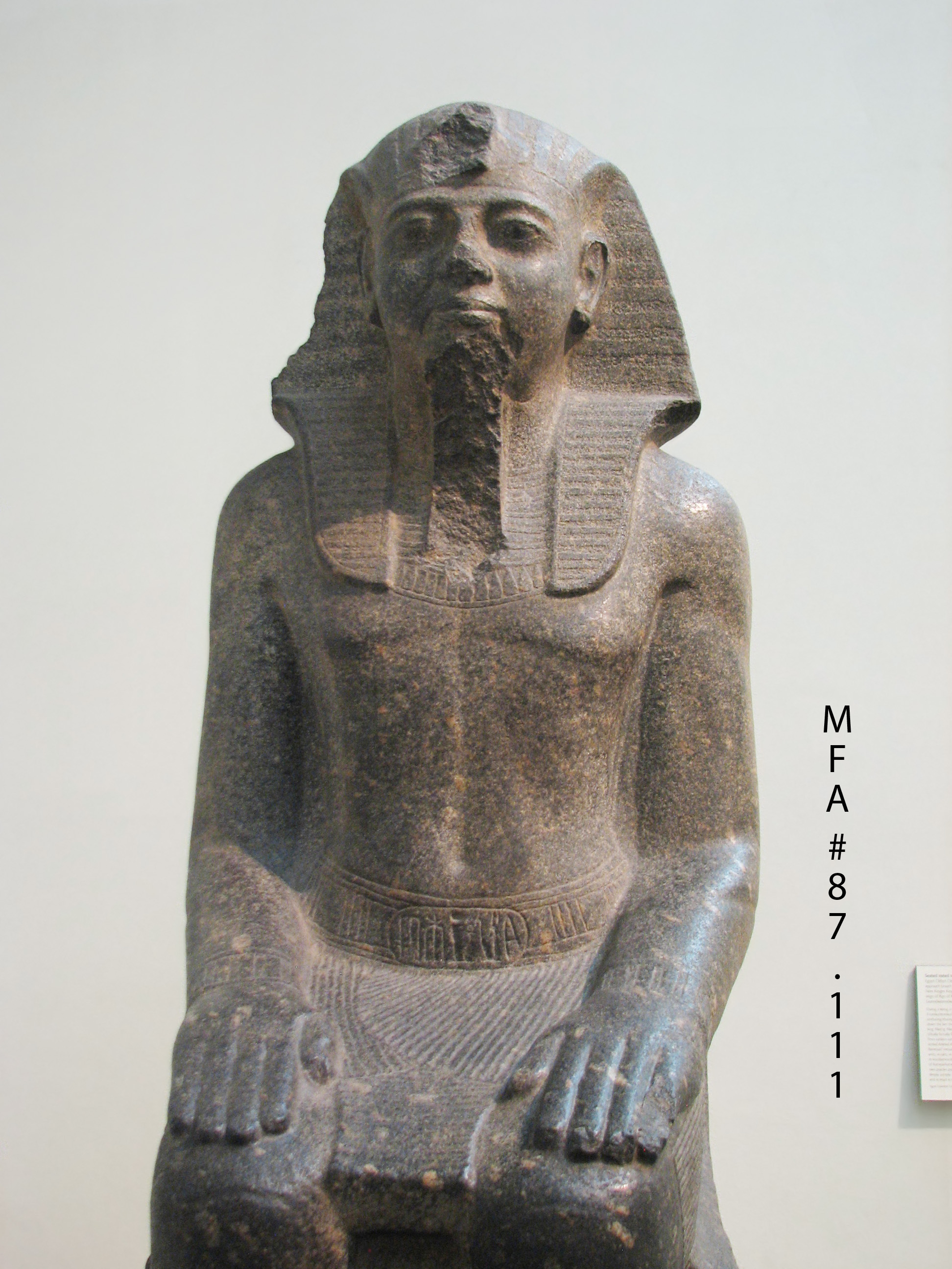 analysis of statue of ramesses ii Ramesses ii fought the hittites and signed the world's first official peace treaty   of abu simbel with four colossal seated statues of ramesses ii.